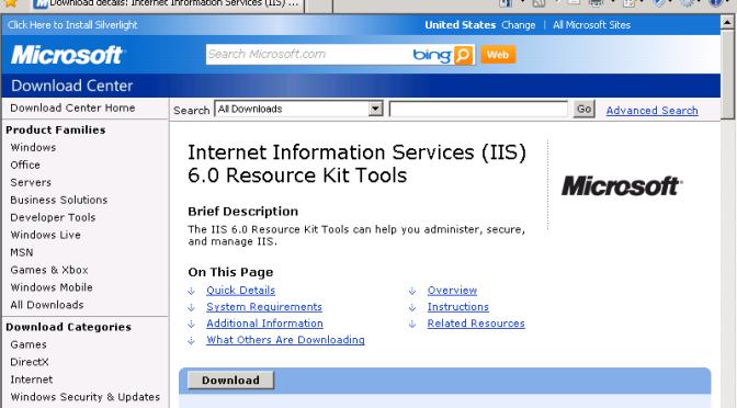 Windows Server 2003 | SDKit